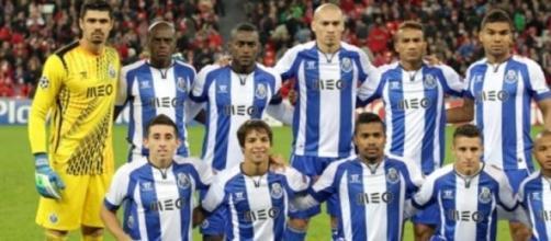 Plantel do FC Porto 2014/2015.