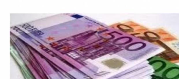 I soldi, l'euro, le banconote