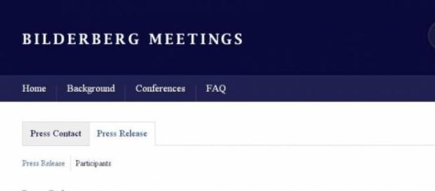 Oficjalna strona grupy Bilderberg (print scrn)