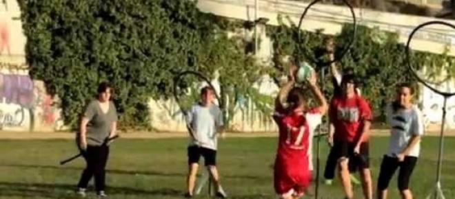 Jugadores de Quidditch en Tarragona
