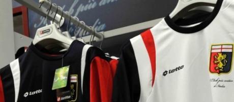 Abbigliamento Genoa firmato Lotto