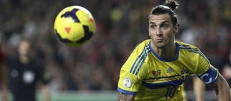 Zlatan Ibrahimovic, 33enne attaccante del PSG