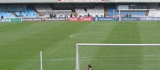 fotografia de un campo de futbol
