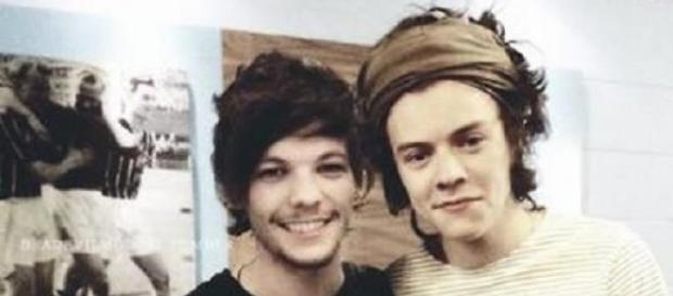 Harry Styles und Louis Tomlinson von One Direction