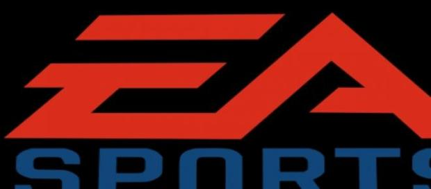 logotipo de EA sports, responsable de fifa