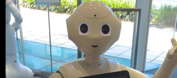 Robot Pepper od japońskiego koncernu Softbank.