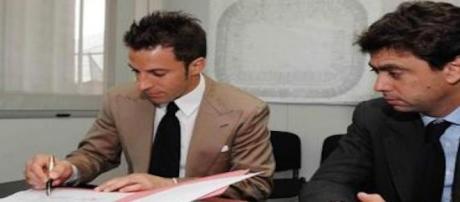 Alessandro Del Piero e Andrea Agnelli nel 2011