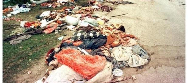 Fosse comuni a Srebrenica