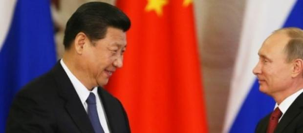 I presidenti Xi Jinping e Putin