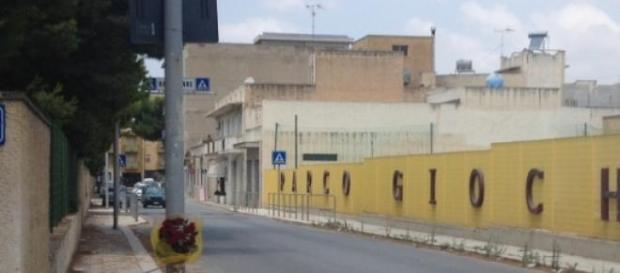 Il luogo dell'incidente a Mazara del Vallo (TP)