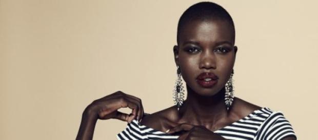Modelo sudanesa é ativista nas causas do seu país