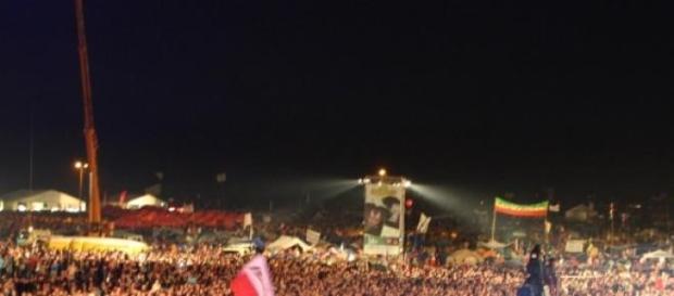 Patriotyczne tłumy na  Przystanku Woodstock