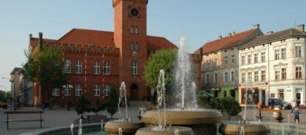 Szczecinecki ratusz, fontanna