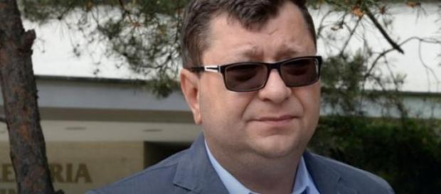 Zbigniew Stonoga w swoim żywiole.