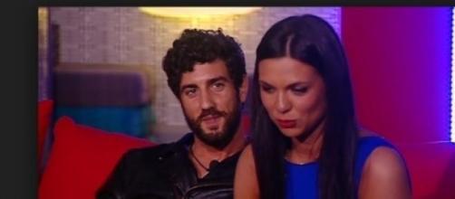 Diletta e Roberto nella Casa del Grande Fratelllo