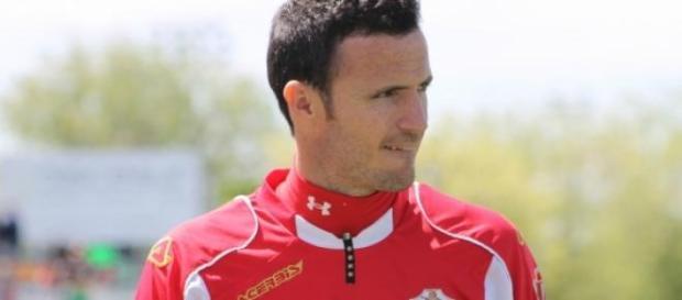 Manu Herrera con la camiseta del Elche