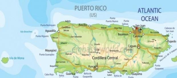 Mapa oficial de Puerto Rico