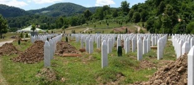 Srebrenica: il memoriale di Potocari.
