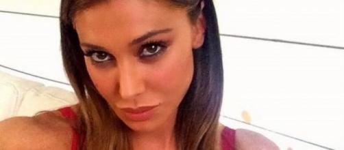 Belen Rodriguez è in vacanza a Ibiza