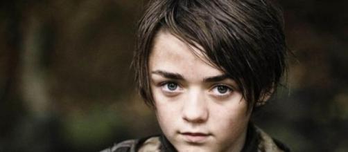 "Maisie Williams, Arya Stark en ""Game Of Thrones"""