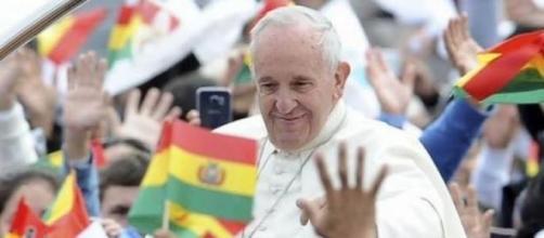 Pope Francis in La Paz, Bolivia
