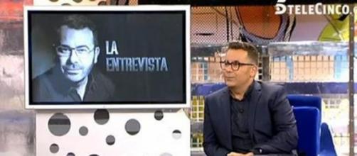 Un momento de la entrevista a Jorge Javier Vázquez