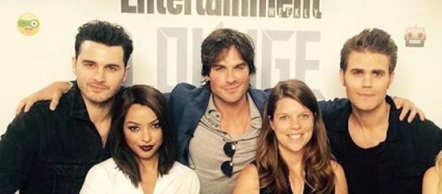 Elenco de The Vampire Diaries na Comic-Con 2015