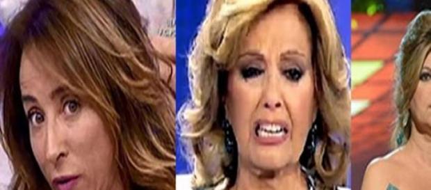 María Patiño, Teresa Campos y Terelu