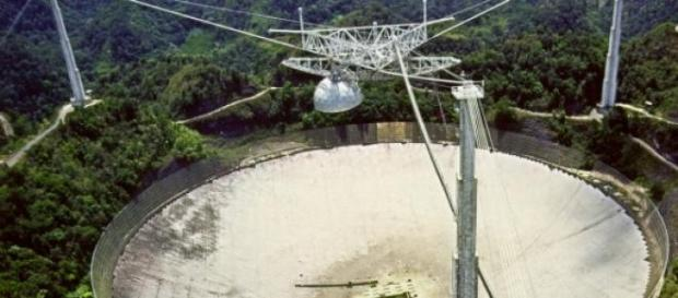 Radiotelescopio del observatorio de Arecibo