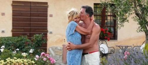 Gemma e Giorgio di Uomini e donne over in vacanza.