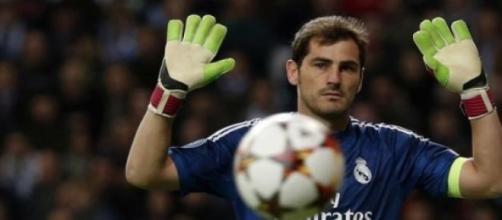 Iker Casillas é jogador do FC Porto.