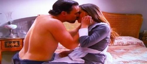 Manuela e German si baciano davvero
