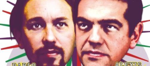 Pablo Iglesias y Alexis Tsipras.