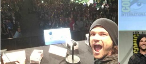 Jared ficou emocionado com homenagem na Comic-Con