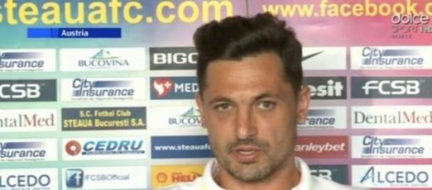 Mirel Radoi. antrenorul echipei Steaua Bucuresti