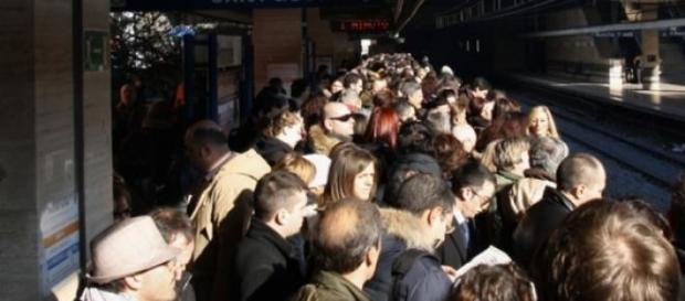 Possibile sciopero bianco della metro A e B a Roma