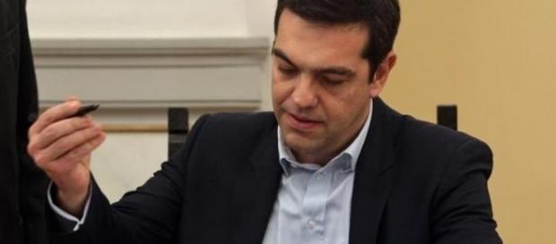 Tsipras, il premier della Grecia