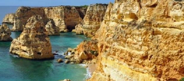 Uno dei meravigliosi scorci dell'Algarve