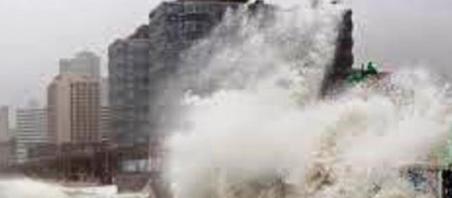 Tajfun pustoszy południowe Chiny