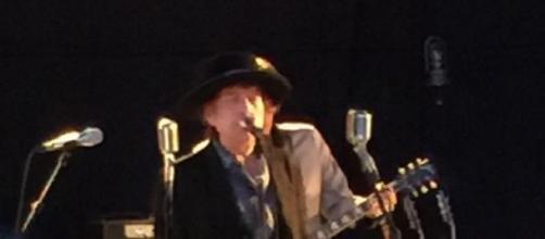 Bob Dylan en su concierto en Córdoba