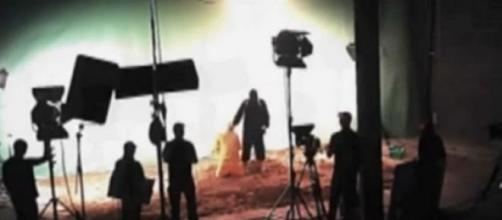 Fotograma del vídeo liberado por CyberBerkut