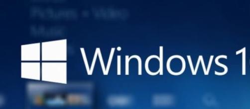 Il logo ufficiale di Windows 10