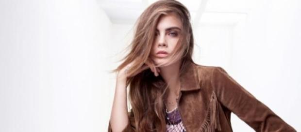 Cara Delevingne wirbt neuerdings für Zalando