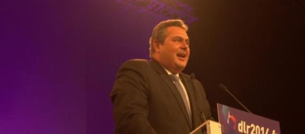 Líder do Gregos Independentes, Panos Kammenos