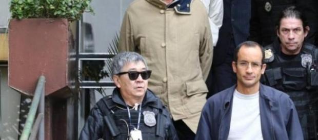 Marcelo Odebrecht sendo preso em junho