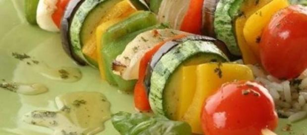 Multitud de opciones para los vegetarianos.