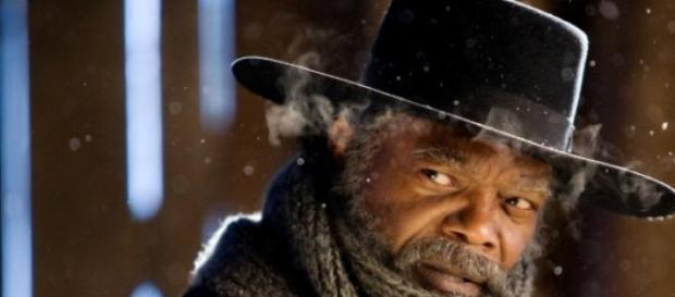 Samuel L. Jackson dans The Hateful Eight.