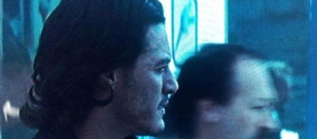 Simon in a scene with Luke Evans in Dracula Untold