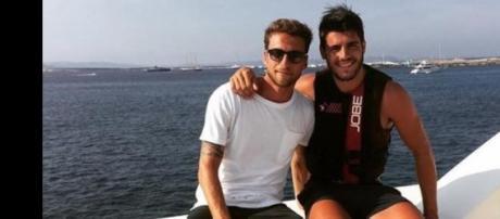 Claudio Marchisio e Alvaro Morata