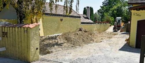 Acidente ocorreu nesta vivenda, em Nyon.